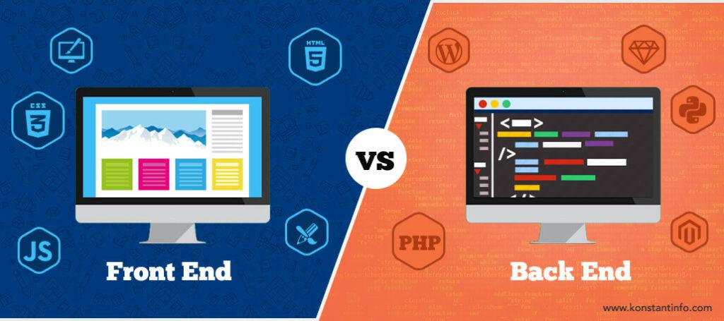 frontend vs backend web-development
